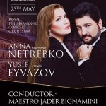 ANNA NETREBKO & YUSIF EYVAZOV AT THE ROYAL ALBERT HALL