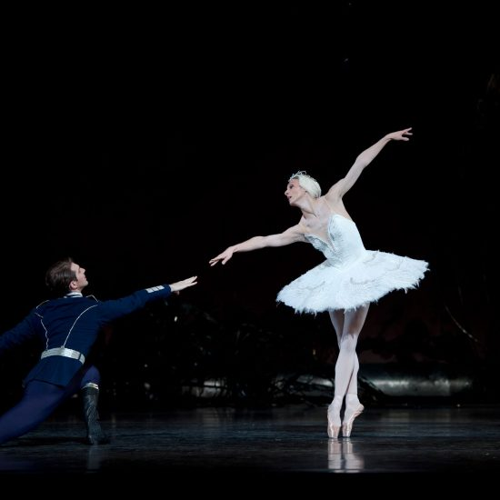 Natalia Osipova Performs in the Swan Lake