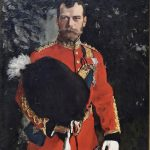 SPECTACULAR, RARE PORTRAIT OF LAST TSAR OF RUSSIA, NICHOLAS II,  IS LOANED TO NATIONAL GALLERIES OF SCOTLAND