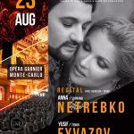 Anna Netrebko and Yusif Eyvazov to Perform in Opera Garnier in Monte-Carlo