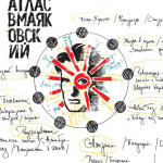 Atlas VMayakovsky: A Map of the chaotic life of the great Russian poet