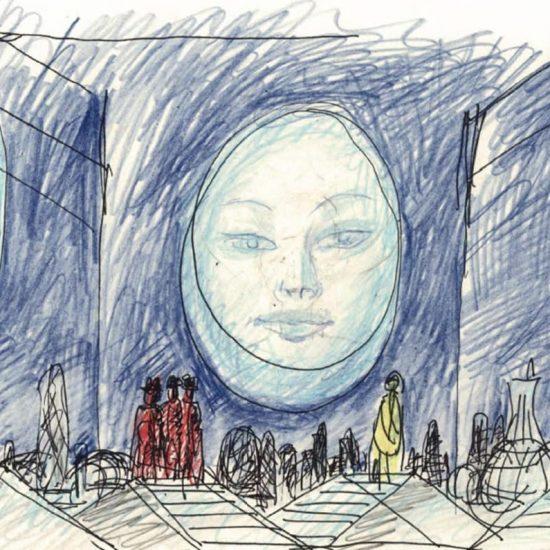 AES+F radical re-interpretation of Turandot
