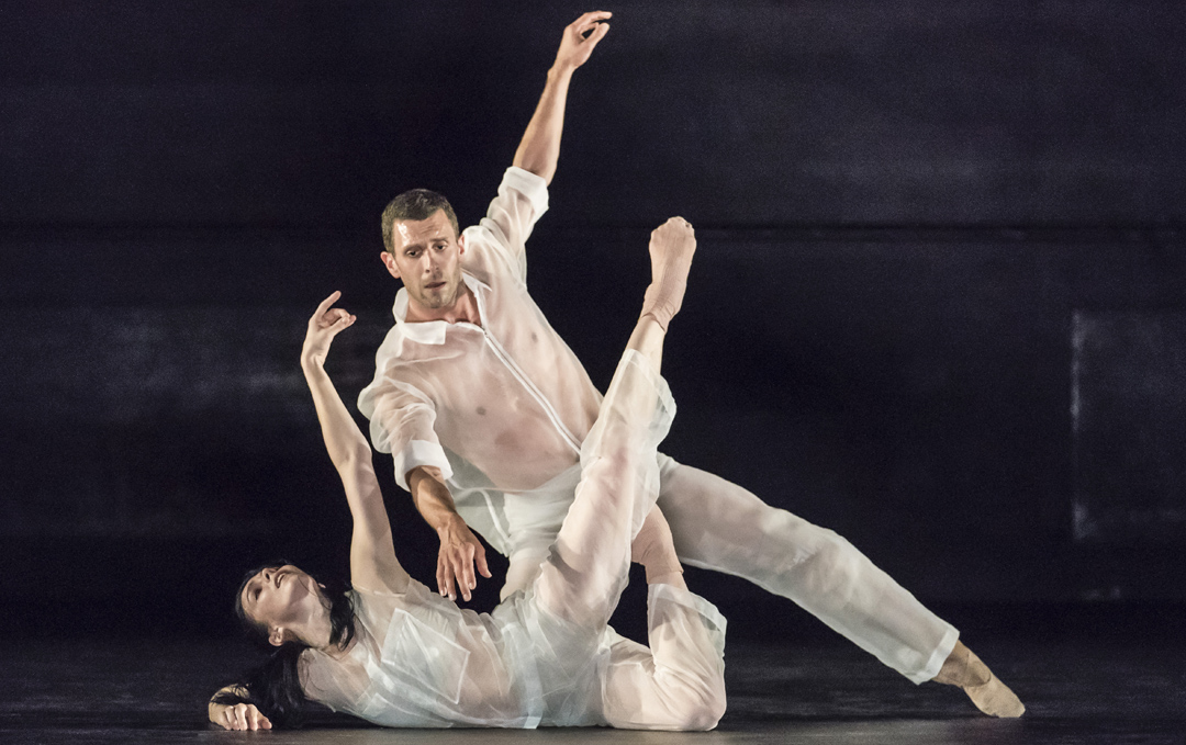 FLUTTER by Ivan Perez Natalia Osipova and Jonathan Goddard, Choreography - Ivan Perez, Sadlers Wells Theatre, 2018, Credit: Johan Persson