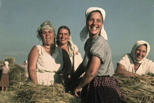 Screening of musical Cossacks of Kuban
