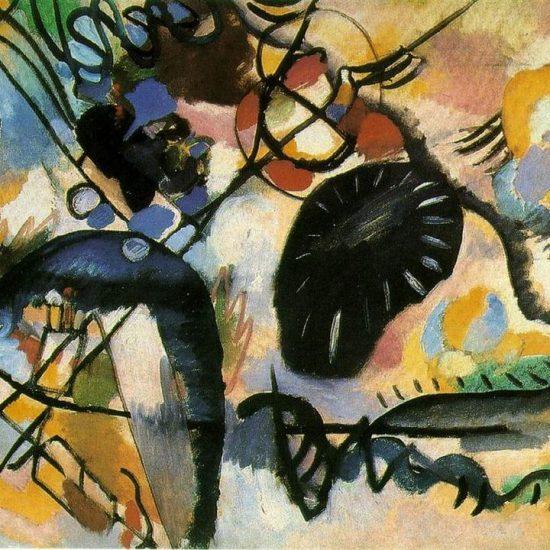 Major Kandinsky show  in Saudi Arabia
