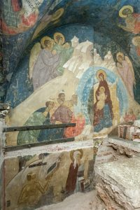 Old Frescoes Discovered: Interview with Keeper of the Dormition Cathedral of the Moscow Kremlin