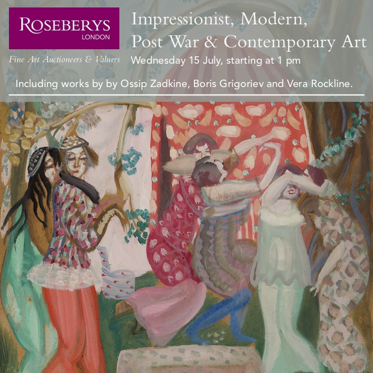 Roseberys London Impressionist, modern,post war & contemporary sale