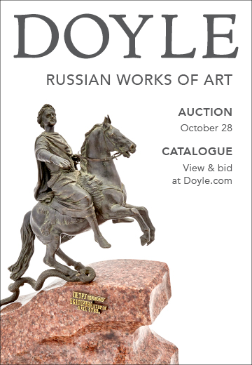 Doyle NY Russian  auction sale 28 October 2020