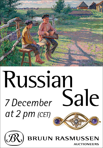 Bruun Rasmussen Russian Sale 7 December 2020