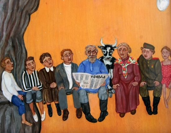 """Family Tree"" by Sima Vassilieva at Bonhams This Autumn"