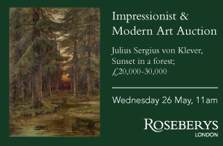 Roseberys London Impressionists and Modern Art Auction 26 May 2021