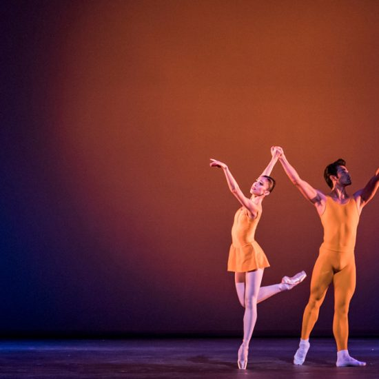 Royal Opera House Ballet set to Shostakovich's Piano Concerto no.2