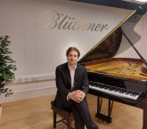Nikita Lukinov at Bluthner Piano Centre for the Keyboard Trust