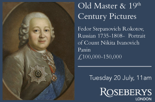 Old masters and 19C pictures Roseberys 20/07/21
