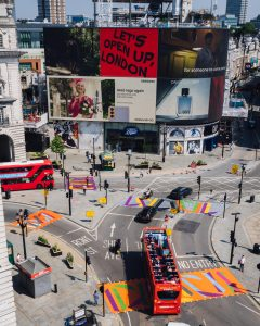 Art for All – the Piccadilly Takeover