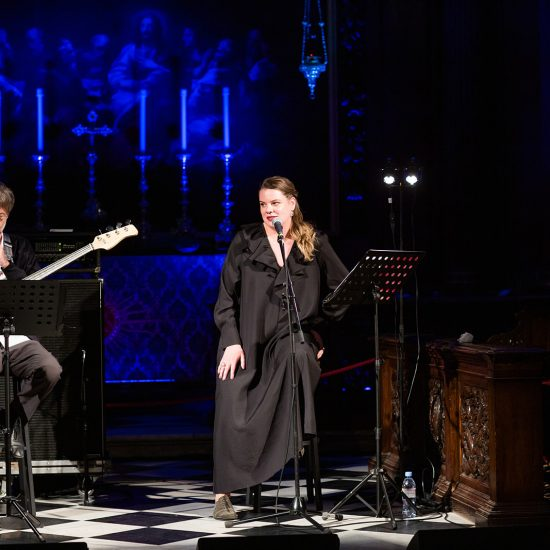 VERA POLOZKOVA AND ALEXANDER MANOTSKOV PERFORMED IN LONDON TO SUPPORT GIFT OF LIFE