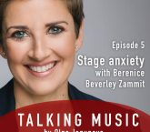 Talking Music with Olga Jegunova: Stage Fright or Performance Anxiety